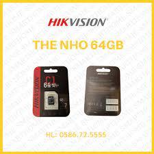 THẺ NHỚ 64GB HIKVISION, 32GB HIKVISION giá cạnh tranh