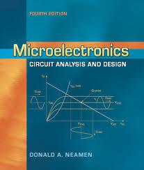 Electronic Circuit Analysis And Design 4th Edition Pdf Microelectronics Circuit Analysis And Design Ebook Rental