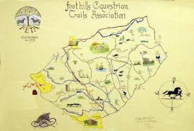feta trails map foothills equestrian nature center Tryon Nc Map handcrafted by local artists sarah holmberg and phyllis eifert, this limited edition map of the trails shows local landmarks and waterways, tryon nc map north carolina