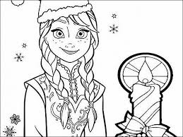 Disney Princess Coloring Pages Frozen Anna Free Coloring Sheets Kids