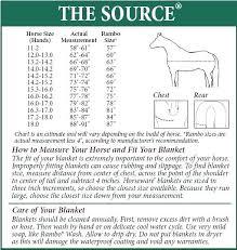 Horse Blanket Chart Guarderiacanina Co
