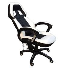 white luxury office chair. FoxHunter Luxury 6 Point Massage Office Computer Chair Reclining High Back  White New: Amazon.co.uk: Kitchen \u0026 Home White Luxury Office Chair F