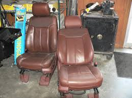 2010 king ranch leather seats