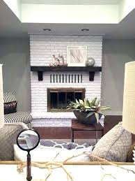 painted brick fireplace white painted white brick fireplace white painted brick fireplace best painted brick fireplaces