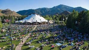 What is a pavilion Park The Surrounding Landscape Is Sculpted Into An Undulating Park Gently Elevated Into Natural Amphitheater With Views Of Trail Creek Canyon Dollar Mountain Sun Valley Summer Symphony Sun Valley Pavilion And Lawn Sun Valley Summer Symphony