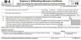 How Do Allowances Affect Withholding How To Fill Out A W 4 Form