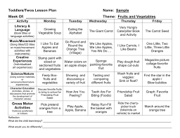 sample lesson plan for preschool provider sample lesson plan template page 5 lesson plans
