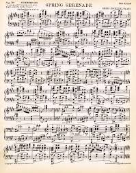 Spring Printable Antique Sheet Music Via Knickoftime Net Free