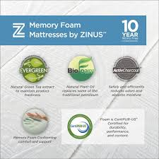 mattress king logo. Amazon.com: Sleep Master Memory Foam 13 Inch Mattress With  Double Layer Airflow Foam, Cal King: Kitchen \u0026 Dining Mattress King Logo