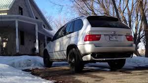 E53 BMW X5 4.6is Custom Exhaust - YouTube