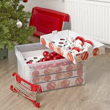 Christmas Decorations Storage Box STORE XL Decorations Storage Box 100 Ltr 47