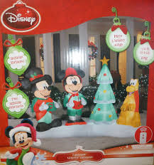Mickey Shaped Christmas Lights Christmas Inflatable Mickey Mouse Light Show Display