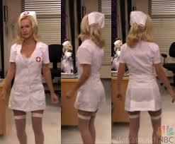 PHOTOS VIDEO Angela as a nurse from The fice s Halloween