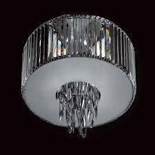 impex sigma k9 crys g9 flush pendant light large