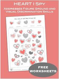 FREE Valentines Visual Perceptual Skills... - Visual Learning for ...