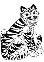 Disegno Di Tatuaggio Di Tigre Da Colorare Disegni Da Colorare E