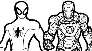 Marvel Coloring Pages To Print Marvel Heroes Black And White Lego