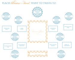 free round table seating plan template round designs creative wedding planning tool