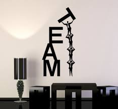 vinyl wall decal team work teamwork fice business word stickers design of funny wall decals