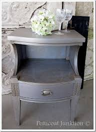 diy metallic furniture. martha stewart metallic paint for furniture rocks the shine diy m