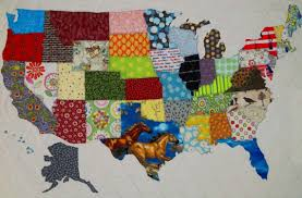 USA PATCHWORK MAP Quilt Pattern from Quilts by Elena Full & Like this item? Adamdwight.com