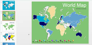 Editable World Map For Powerpoint The Best Free Maps Powerpoint Templates On The Web Present Better