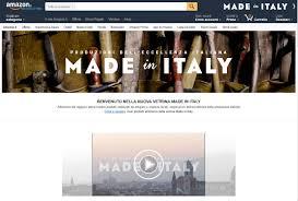 Il Made in Italy trova casa in Amazon