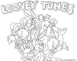 Small Picture LOONEY TUNES Coloring Pages Free Printable