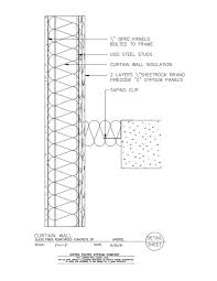 44 00 104 curtain wall glass fiber reinforced concrete spandrel detail view full size