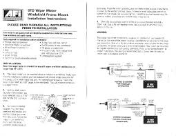 ford windshield wiper motor wiring diagram image details boat windshield wiper motor wiring diagram