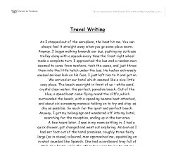 example travelling essay example travelling