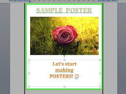 Formato De Afiches En Word