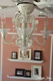 girl ceiling fan with chandelier popular room tour my daughter s bedroom tidbits twine regard to 26