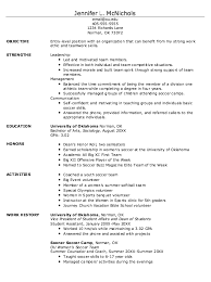 Professional Athlete Resume Example Best Of Example Of Student Athlete Resume Httpexampleresumecvorg
