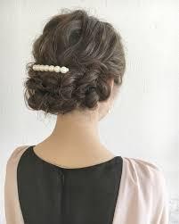 結婚式のお呼ばれに髪型ヘアスタイルは簡単アレンジでナチュラルに
