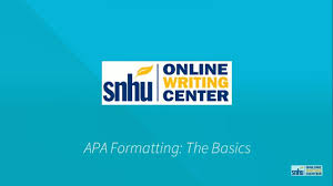 How Do I Make An Apa Cover Sheet Snhu Library Frequently Asked