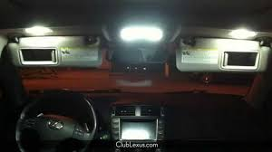 why won t the interior lights turn on or off in my lexus