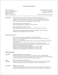 Harvard Resume Template Mesmerizing Harvard Resume Template New Professional Resume Templates
