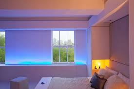 contemporary apartment with led mood lighting bedroom mood lighting mood