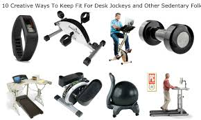 10 creative ways to keep fit for desk jockeys and other sedentary folks