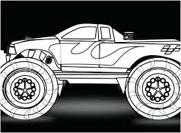 Free Monster Truck Coloring Pages Best Coloring Pages 2018
