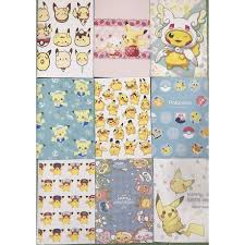 Vở pikachu kẻ ngang tập pikachu S7VI3 vở hoạt hình sổ hoạt hình 25x17cm 72  trang giấy đẹp giảm tiếp 10,500đ