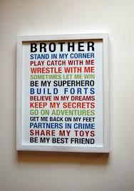 Printable Room Decor Brothers Wall Art Printable Boys Room Decor Print Big Brother