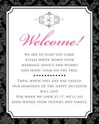Wedding Guest Book Sign Template Siudy Net