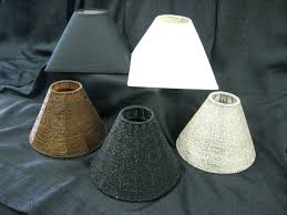 mini lamp shades for chandelier red blue green modern light lamps with fabric shade clip on