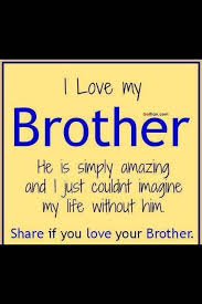 I Love My Brother Quotes Classy 48 Most Wonderful Big Brother Quotes Elder Brother Saying