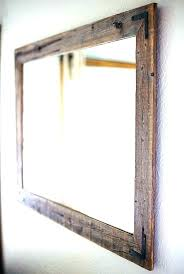 distressed wood mirror reclaimed wood mirror wall mirrors decorative wall mirrors wood frame full image for