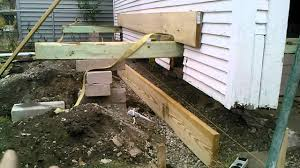 replace foundation under existing house. Fine Foundation On Replace Foundation Under Existing House A