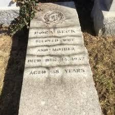 Dora Beck (Unknown-1932) - Find A Grave Memorial