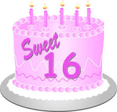 Free 16 Birthday Cliparts Download Free Clip Art Free Clip Art On